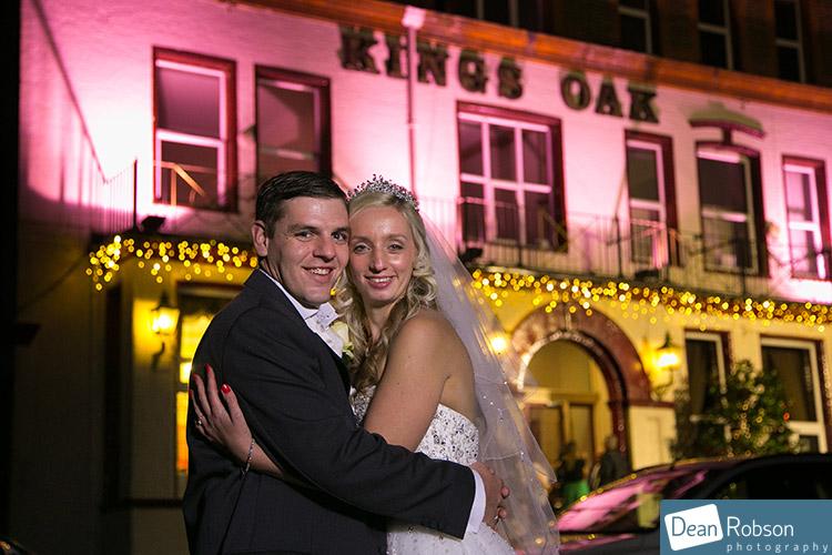 Kings Oak Wedding Photography in Winter