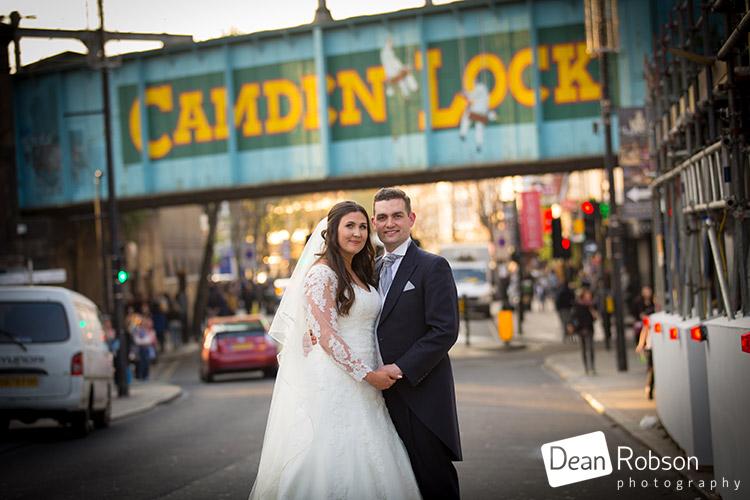 Camden Lock Holiday Inn Wedding Photography
