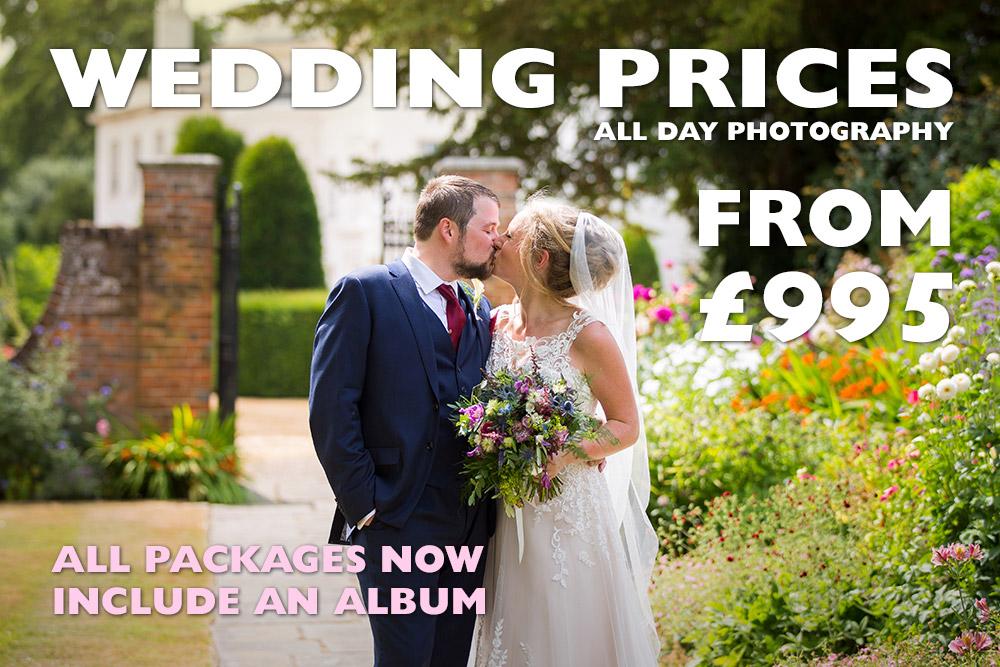 Wedding Photography Prices